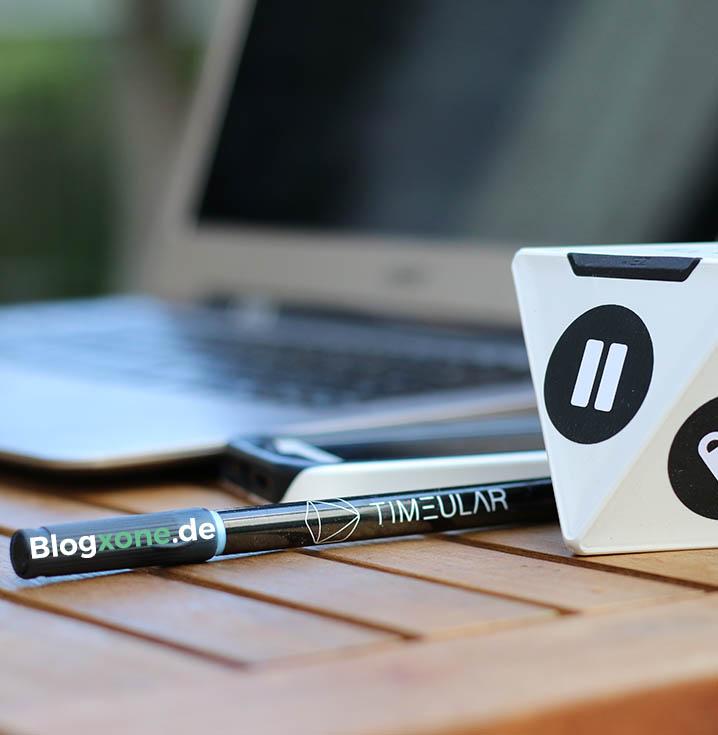 Blogxone ZEI Timeular Kickstarter
